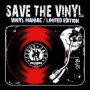Save the vinyl – vinyl maniac / limited edition (Jimmy Jazz) T-shirt