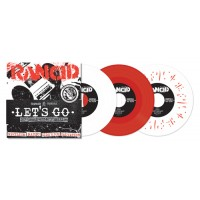 "RANCID ""Let's Go"" 5x7""EP (red vinyl)"