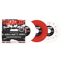 "RANCID ""B sides and C sides"" 7x7""EP (red vinyl)"