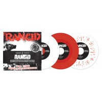 "RANCID ""Rancid"" (1993) 4x7""EP (red vinyl)"