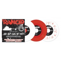 """RANCID """"…And Out Come The Wolves"""" 5x7""""EP (red vinyl)"""