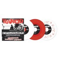 """RANCID """"Indestructible""""  6x7""""EP (red vinyl)"""