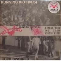 """COCK SPARRER """"Running riot in '84 / Live & Loud"""" 2xLP"""