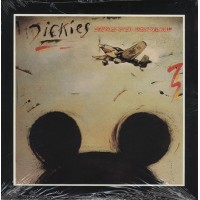 "DICKIES ""Stukas Over Disneyland"" 10"" yellow vinyl"