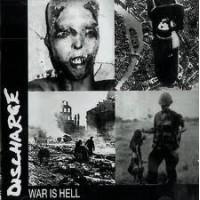 "DISCHARGE ""War is Hell"" CD"