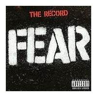 """FEAR """"The Record"""" CD"""