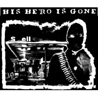 """His Hero Is Gone """"15 counts..."""" (white print) T-shirt"""