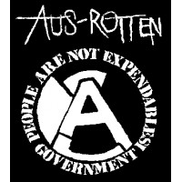 "Aus Rotten ""People are not expandable""  longsleeve (długi rękaw)"