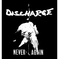 "DISCHARGE ""Never again"" ekran"